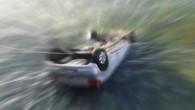 Samsun'da otomobil kanala düştü: 4 yaralı
