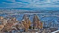 Yılbaşı kutlamaları için turistlerin tercihi Kapadokya oldu