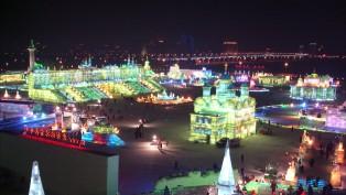 Çin'de Buz İle Yapılan Mucizevi Yapılar
