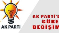 Serkan FERALAN Yerine Ahmet Fatih KESAL