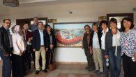 Avanos Kaymakamı Mustafa Eldivan'ı Alman Pisikolog ve Sosyologlar Ziyaret Etti