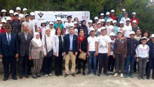 Avanos Kaymakamı Mustafa ELDİVAN Göynük Ortaokulu Bilim Şenliği ve Göynük Halk Eğitim Sergisinin Açılışını Yaptı.
