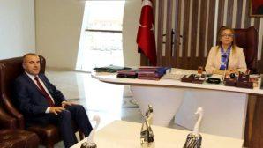 Nevşehir İl Milli Eğitim Müdürlüğüne Atanan Murat Demir Rektör Kılıç'ı  Ziyaret Etti