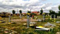 Kızılırmak kenarındaki rekreasyon alanlarına Yeni Spor Aletleri Yerleştiriliyor