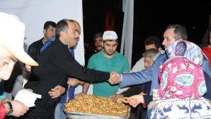 Beraat kandilinde Nevşehir Kurşunlu camiinde süt ve kandil simidi dağıtıldı
