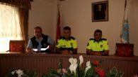 Nevşehir Belediyesi'nin hizmet birimlerinde yol çalışmaları yapan personeline, yol güvenliği Eğitimi Verildi
