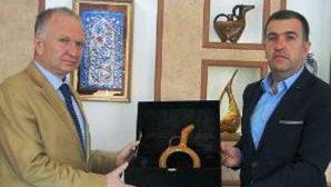 Vali CEYLAN Avanos Kaymakamı Mustafa ELDİVAN'a Veda Ziyaretinde Bulundu