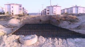 Avanos Karaseki Mahallesi Sel Yatağına Köprü Yapılıyor