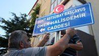 Nevşehir Caddelerinde Milli İrade Şehitlerimizin İsimleri Yaşıyor