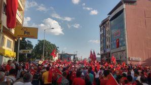 Tüm Türkiye'de Demokrasi Mitingi