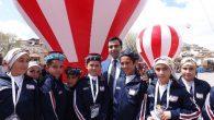 Avanos Kaymakamı Muhammed Sait BAYTOK'u Çocuklar Çok Sevdi