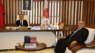 Derinkuyu Belediye Başkanı Ahmet  BALCI'dan Rektör BAĞLI'ya Ziyaret