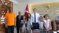 GENÇLER KAYMAKAM BAYTOK'U ZİYARET ETTİ