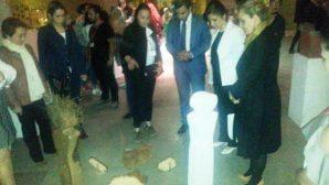 Avanos Kaymakamı Muhammed Sait Baytok, Güray Müzede Mezuniyet Sergisinin Açılışına katıldı