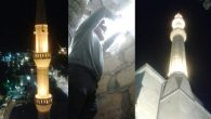Avanos Belediyesi Merkez Cami Aydınlatmalarını düzenledi