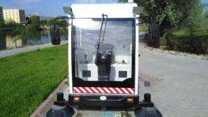 Avanos Belediyesi Yeni Süpürme Aracı Temizlik Çalışmalarına Katıldı