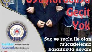 NEVŞEHİR POLİSİ UYUŞTURUCUYLA MÜCADELEYE HIZ KESMEDEN DEVAM EDİYOR