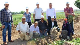 Nevşehir İl Tarım Müdürü Okan YILMAZ Üreticileri Tarım Arazilerinde Ziyaret Etti
