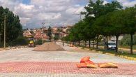 Avanos İnönü Caddesinde Kilit Parke Çalışması Yapılıyor