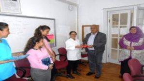 Avanos  İlçe Milli Eğitim Müdürü Mehmet BERK Başarıyı Ödüllendirdi