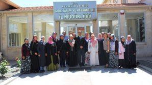 Nevşehir'de Genç Kadın Çiftçilere Sürü Yönetimi Eğitimi Verildi