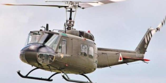 Helikopterin Düşme Görüntüleri