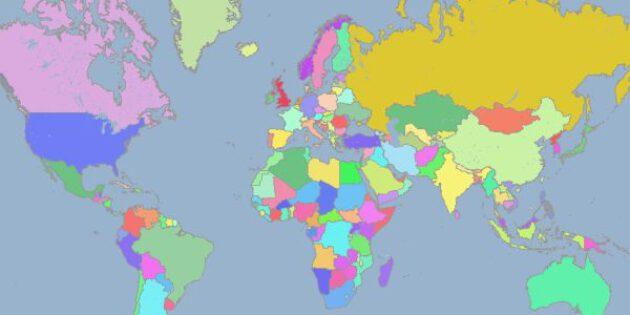 Tarihe Göre Dünya Haritası